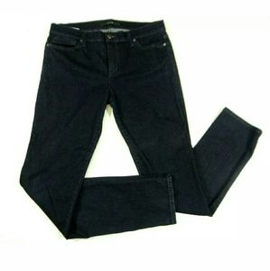Joe's Jeans Size 31 Cigarette Skinny Dark Stretch